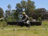 Bild: Soll die Arbeit von Hubschraubern ersetzen: das Hoverbike.