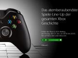 Bild: Microsoft kündigt die eigene E3-Pressekonferenz mit großen Worten an.