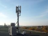 Bild: LTE-Antenne in Halle Neustadt: Der Provider schaltet Vertragskunden automatisch und kostenlos für den schnellen Mobilfunk frei.