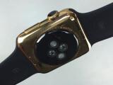 Bild: Sieht dem Original zum Verwechseln ähnlich: Mit Midas Touch auf Apple Watch Edition getrimmte Apple Watch.