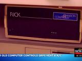 Bild: Der Amiga 2000 kommuniziert per Modem mit den anderen Schulen.