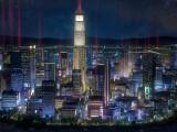 Bild: Ein wenig erinnert die Skyline an Hideo Kojimas Kultklassiker Snatcher.