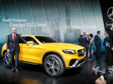 Bild: Gibt einen Ausblick auf die zukünftige Designsprache kommender Mercedes-SUV: GLC Coupé in Shanghai.