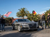 Bild: Start in Stanford: Bis der speziell ausgerüstete A7 das knapp 900 Kilometer entfernte Las Vegas erreicht, vergehen zwei Tage.