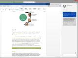 Bild: Gemeinsames Arbeiten in Word Online wird jetzt einfacher.