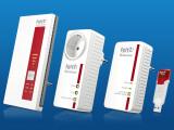 Bild: WLAN-Repeater und Powerline-Adapter: Auf der IFA ist AVM mit einigen Neuvorstellungen vertreten.