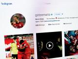Bild: Mario Götze hat den Instagram-Account mit den meisten Abonnenten in Deutschland.