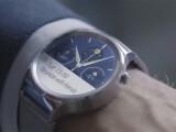 Bild: Die neue Huawei Watch ist eine Smartwatch mit Android Wear im Edelstahlgehäuse und rund wie eine Mioto 360.