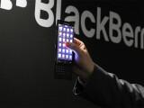 Bild: BlackBerry zeigt auf dem MWC ein neues Slider-Smartphone, das 2015 auf den Markt kommen wird.