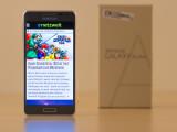 Bild: Der ausführliche Test zum Samsung Galaxy Alpha folgt in Kürze.