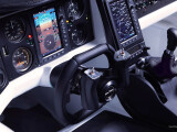 Bild: Hat mit dem Cockpit eines Autos nicht mehr viel am Hut: Innenansicht des Aeromobil 3.0.