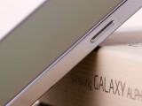 Bild: Der Rahmen des Galaxy Alpha besteht wie von vielen Fans erhofft aus Aluminium.