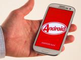 Bild: Das Samsung Galaxy S3 (GT-I9300) mit Android 4.4.4 KitKat.