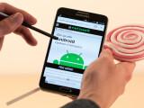 Bild: Das Galaxy Note 3 erhält ein  Update auf Android 5.0 Lollipop.