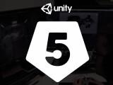 Bild: Die Unity-Engine wurde in der fünften Version veröffentlicht.