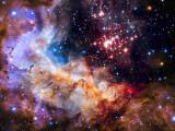 Bild: Das Weltraumteleskop Hubble fasziniert seit 25 Jahren mit beeindruckenden Aufnahmen unserer Galaxie.