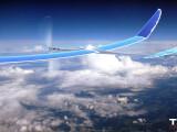 Bild: Eine von Google betriebene Solardrohne vom Typ Solara 50 ist kurz nach dem Start in New Mexico abgestürzt.