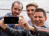 Bild: Das Xperia Z3+ bietet eine 5-Megapixel-Frontkamera für Selfies