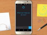Bild: Cortana ist in einer ersten Beta - Version jetzt auch für Android - Geräte verfügbar.