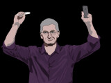 """Bild: Wenn Tim Cook das erste Mal das iPhone 6S zeigt, reiße ich die Arme ebenfalls in die Höhe und schreie laut """"Halleluja"""" - egal wo ich mich gerade befinde."""