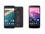 Bild: Alt gegen neu. Was hat sich alles beim neuen Nexus 5X (links) gegenüber dem alten Nexus 5 (rechts) geändert?