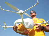 Bild: Paket-Drohne Matternet ONE