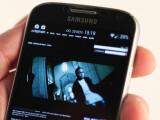 Bild: Ein auf Flash basierendes Musikvideo auf einem Samsung Galaxy S4.