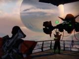 Bild: Eris Morn spielt als neuer Questgeber eine tragende Rollen in Dunkelheit Lauert.