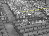 Bild: Aufnahmen einer Infrarot-Kamera im Londoner Vue Kino.