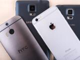 Bild: Die vier Testkandidaten: Welches Smartphone schneidet am Besten ab?