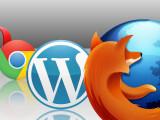 Bild: Für Wordpress, Mozilla Firefox, Google Chrome und Firefox sind überarbeitete Versionen erschienen.