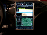 Bild: Display im Tesla Model S.