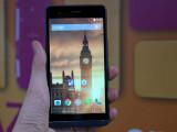Bild: Das Kazam Tornado 455L ist das neue Top-Smartphone des britischen Herstellers.