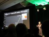 Bild: Der Nvidia Tegra X1 soll laut Hersteller als erster Mobile-Chip eine Rechenleistung von einem Teraflop erreichen.