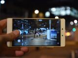 Bild: Das Huawei P8 in Aktion.