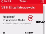 Bild: Derzeit ist es nicht möglich, über HandyTicket Deutschland einen Fahrschein zu kaufen.