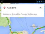 Bild: Waze-Verkehrsinformationen werden jetzt in den iOS- und Android-Apps von Google Maps angezeigt.