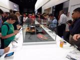 Bild: Auf der IFA gab es eine Reihe von Smartphones zu sehen. Einige Modelle fehlten jedoch.