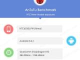 Bild: Im AnTuTu-Benchmark wurde das HTC Hima gesichtet.