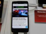Bild: Auf der CES konnte netzwelt das Motorola Droid Turbo alias Moto Maxx ausprobieren.