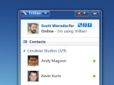 Bild: Trillian verbindet mehrere Messenger, Social Networks und E-Mail-Konten.