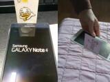 Bild:  Diese Fotos sollen einen schweren Verarbeitungsfehler beim Galaxy Note 4 belegen.