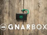Bild: Die Gnarbox ist kompakt, handlich und kleiner als eine externe Festplatte.