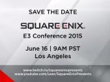 Bild: Die E3 2015-Pressekonferenz von Square Enix findet am 16. Juni um 18:00 Uhr deutscher Zeit statt.