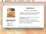 Bild: Mit der Freeware AppCleaner entfernt ihr installierte Programme vollständig von eurem Mac und befreit diesen damit von unnötigen Dateien.