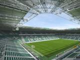 Bild: Der Borussia-Park ist das Stadion von Borussia Mönchengladbach.