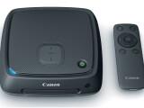 Bild: Mit der Set-Top-Box von Canon kommen Bilder schnell auf den Fernseher.