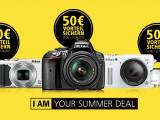 """Bild: Nikon """"I am your summer deal"""" Cashback-Aktion"""