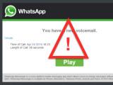 Bild: Links in diesen WhatsApp-E-Mails solltet ihr nicht anklicken.