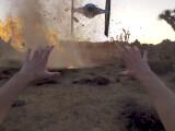 Bild: Ein GoPro Video aus der Ego-Perspektive eines Jedi-Ritters.